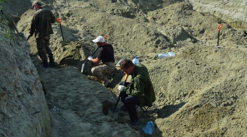 Вид на раскоп 4