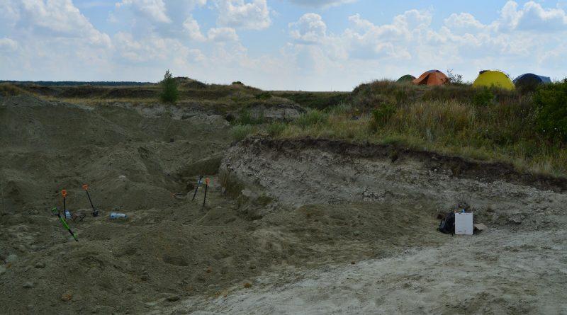 Вид на раскоп 5