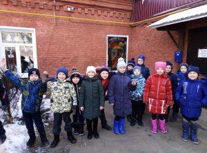 МОУ Ундоровский лицей, учащиеся 3 класса Б
