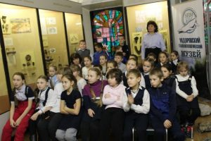 Учащиеся 4Б класса МОУ Ундоровского лицея